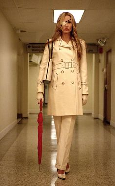 Daniel Garcia PR in action #1- This is a photo of Daryl Hannah (as Elle Driver) from Kill Bill part 2 that came out in 2004 it was used to promote the movie.