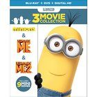 Despicable Me 3-Movie Collection (Despicable Me / Despicable Me 2 / Minions) (Blu-ray + DVD + Digital HD) #movies #minions