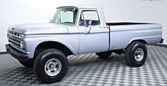 1965 3/4-T Ford - 460 4 speed mods needed for rear-wheel-well adding a bronco adapter to fabricate & extend the opening to compensate larger tires...