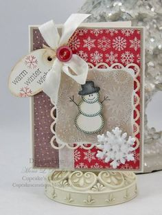 Winter Wishes by Westies - Cards and Paper Crafts at Splitcoaststampers