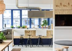 A Look Inside IKEA's Space 10 Innovation Lab in Copenhagen: IKEA explores the future of urban living. Interior Stylist, Interior Design, Jeld Wen Interior Doors, Kitchen Workshop, Innovation Lab, Retail Concepts, Scandinavian Furniture, Commercial Interiors, Sustainable Living