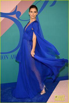 VS Angels Adriana Lima, Elsa Hosk, & Sara Sampaio Stun at CFDA Fashion Awards 2017!