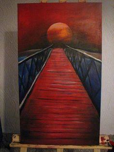 Brücke-acrylic on canvas 40x60