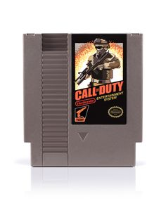 Call of Duty NES. No way! Started a legacy of greatness!!!!!