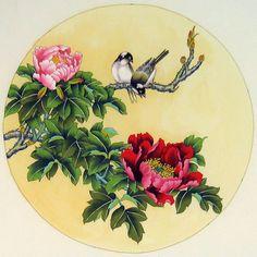 Tranh thủy mặc vẽ chim – bird topic brush painting | Khanhhoathuynga's collection Blog - An Asian art info blog