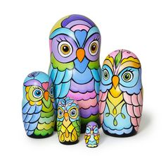 Your place to buy and sell all things handmade Pebeo Porcelaine 150, Chinese Dolls, Whimsical Owl, Matryoshka Doll, Paper Clay, Diy Doll, Handmade Toys, Hippie Style, Art Dolls