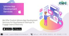 At ABC INFOMEDIA, our expertise will convert your business models into a successful and effective long lasting business with efficient software solutions having the highest Accuracy, Efficiency, and Scalability. Iphone App Development, Mobile App Development Companies, Software Development, Business Software, App Store Google Play, Start Up Business, Facebook, Website, Twitter