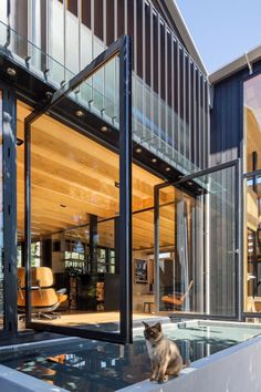 Boatsheds by Strachan Group Architects