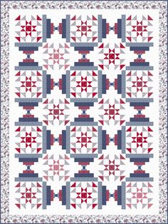 Quilts of Valor free pattern using Quilting Treasures' Monroe group - by ivoryspring Wendy Sheppard