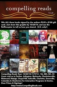 Wendy Higgins (Compelling Reads) is having a giveaway! Enter for a chance to win 18 signed books AND a $100 gift card (U.S. Only) http://www.wendyhigginswrites.com/2014/10/compelling-reads-tour-and-huge-giveaway.html?m=1