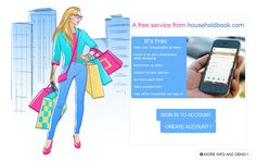 Make your shopping list at home