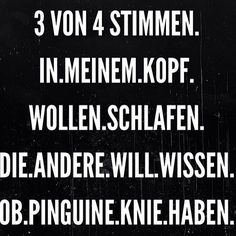 oh verdammt, das kenne ich so gut :o) Good Jokes, Funny Jokes, German Quotes, German Words, Just Smile, True Words, Laugh Out Loud, Picture Quotes, The Funny