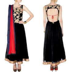 Black designer embroidered dress for women  Size : Free Color : Black Fabric : Georgette Type : Embroidered Occasion : Festive, Wedding, Ceremony, Party Neck Type : Round Neck Sleeve Type : Sleeveless  Sale Price : 3600 INR Only ! #Booknow  CASH ON DELIVERY Available In India ! World Wide Shipping ! ✈ For orders / enquiry 📲 WhatsApp @ +91-9054562754 Or Inbox Us , Worldwide Shipping ! ✈ #SHOPNOW  #anarkali #anarkalisuit #saree #lehengacholi #indianwear #lehenga #deaign..