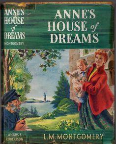 Vintage L.M.MONTGOMERY - ANNE'S HOUSE OF DREAMS  (HCDJ; 1958)