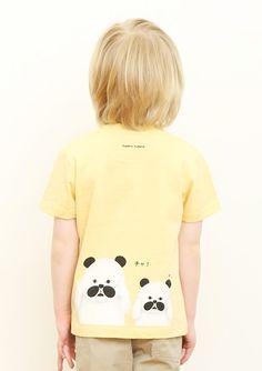 (90)tupera tupera Tシャツ パンダ銭湯 サングラスの商品画像8