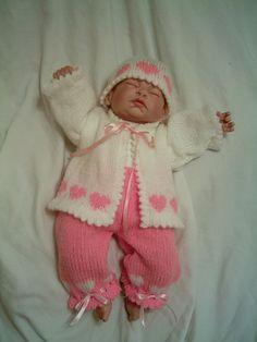 PDF Knitting Pattern 2 Reborn Newborn by AngiesAngelsBabyGift