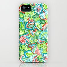 Sharpie Doodle iPhone & iPod Case by Kayla Gordon - $35.00