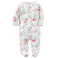Baby Girl Carter s Floral Sleep   Play edd4b04c3