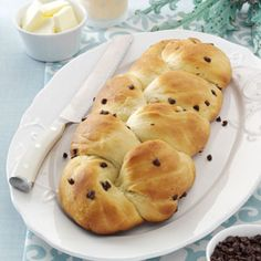 Chocolate Chip Challah Recipe from Taste of Home