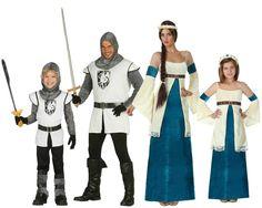 Familia de Medievales #disfraces #carnaval #disfracesparagrupos