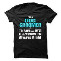 Love being -- DOG-GROOMER - #logo tee #tshirt pattern. LIMITED AVAILABILITY => https://www.sunfrog.com/Geek-Tech/Love-being--DOG-GROOMER-58703783-Guys.html?68278