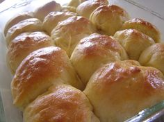 Easy Big Fat Yeast Rolls Ingredients 1 cup warm water 1 pkg active dry yeast 1/4 cup sugar 1 tsp salt 3 tbls softend butter (or non-dairy ...
