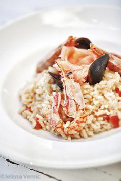 ριζότο θαλασσινών / Seafood risotto