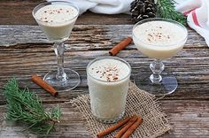 This eggnog recipe is incredibly special. It's super flavourful and doesn't just taste like sweet milk, and the holidays just aren't the holidays without it.