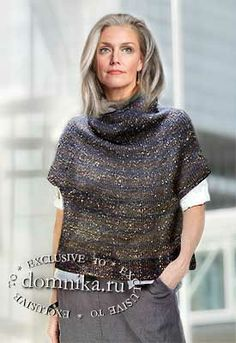 Knitting Paterns, Easy Knitting, Knit Fashion, Sweater Fashion, Creative Textiles, Knit Vest, Warm Outfits, Pulls, Lana