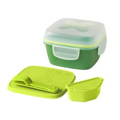 BLANDNING Lunch box for salad  - IKEA