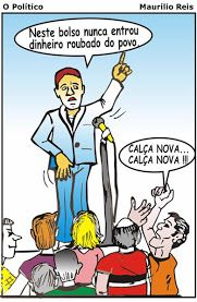 """Brasil, meu Brasil Brasileiro"": Nossa literatura - Literatura e Cordel - ''A POLÍTICA BRASILEIRA - O PERFIL DOS POLÍTICOS"""