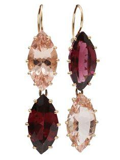 Andrea Fohrman Rhodolite Drop Earrings