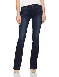 Shop Paige Women's High Rise Manhattan Boot Jeans, Judson, Free delivery and returns on eligible orders. Skinny Ankle Jeans, Mid Rise Skinny Jeans, Super Skinny Jeans, Sleeveless Jean Jackets, Jeans And Boots, Women's Jeans, Best Jeans For Women, Hudson Jeans, Jeans Brands