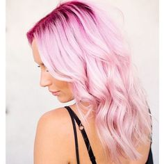 Cheveux pastel #cheveux #pastel #rose #beauté #monvanityideal
