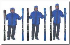 Die richtige Skilänge » Informationen über Carvingski und Skizubehör