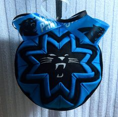 Carolina Panthers Quilted Christmas Ornament by Handcraftcottage