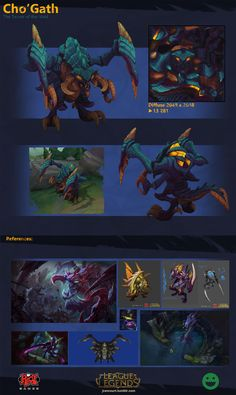 [Riot Art Contest] - Cho'Gath Redesign - Page 4 - Polycount Forum