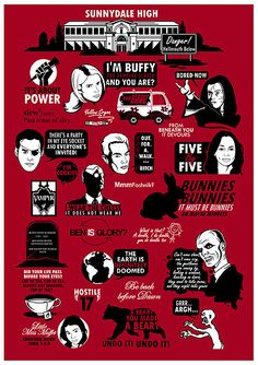 The problem is I know which season each quote is from and which character said it I WANT THIS!!!