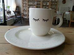 Fotogalerie - Eigenlob Keramik selbst bemalen in Düsseldorf Mugs, Tableware, Diy, Paint, Studio, Style, Pictures, Tablewares, Painted Cups