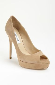 0063a91d5586 What to Wear to a Spring Wedding  Jimmy Choo Crown Pump  JimmyChooHeels  Suede Shoes