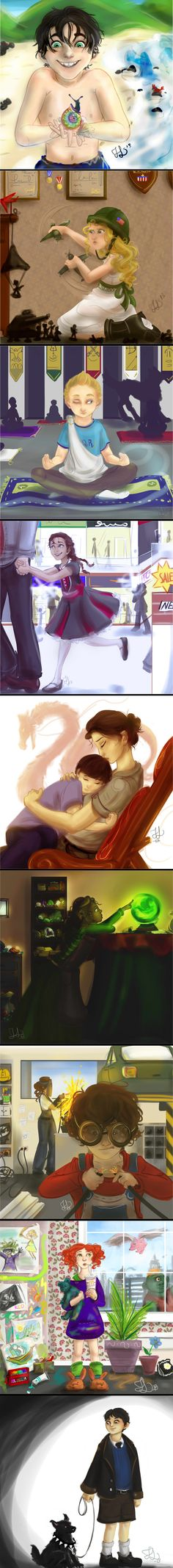 PJO+HOO Kids by SmarsPD on deviantART <<< this is so beautiful. I have tears in my eyes. the feels are too much.