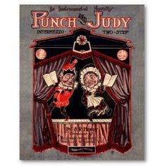another creepy punch & judy poster