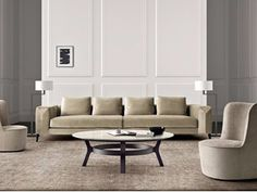 4 seater sofa with removable cover HAMPTONS   4 seater sofa