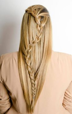 Hairstyling, haircolor coupe soleil, braids / vlechten Salon Mano www.salonmano.nl Latest Hairstyles, Skin Makeup, Haircolor, Health And Beauty, Hair Ideas, Your Hair, Routine, Braids, Hair Beauty
