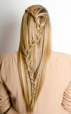 Hairstyling, haircolor coupe soleil, braids / vlechten Salon Mano www.salonmano.nl