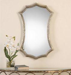 Uttermost Mesdoura Silver Champagne Mirror