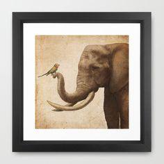 A New Friend Framed Art Print