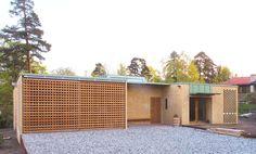Enebolig Bøe/Møller, Stabekk in Bærum. Sliding Doors, Home And Family, Villa, Interior Design, Architecture, Outdoor Decor, Family Houses, Single Family, Home Decor