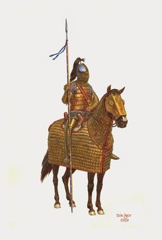 Cataphract, Late Roman cavalry