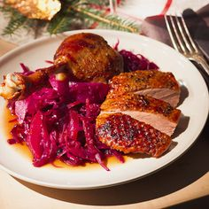 Gänsebraten mit Rotkohl Rezept | Küchengötter